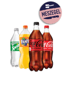 Coca cola, Fanta, Sprite of Aquarius