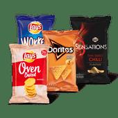 Lay's Oven Baked, Wokkels, Sensations of Doritos