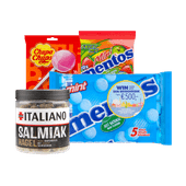 Mentos, Fruit-tella, Chupa Chups of Italiano