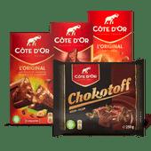 "C""te d'Or chocoladereep of Chokotoff"