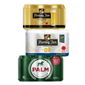 Hertog Jan of Palm pilsener of 0.0