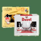 Brouwerij 't IJ, La Chouffe of Duvel speciaalbier geschenkverpakking
