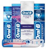 Oral-B tandpasta of tandenborstel 1.2.3.