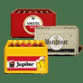 Amstel, Warsteiner of Jupiler