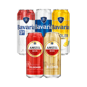 Bavaria of Amstel bier