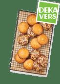 DekaVers roomboter picolientjes of mini speculaas gevulde koeken