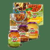 Hak groente of stazakken