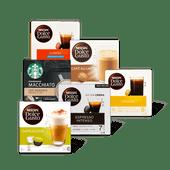 Nescafé Dolce Gusto of Starbucks by Nescafé Dolce Gusto koffiecups