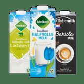 Melkan lang houdbare melk of Globemilk barista