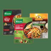Knorr Wereldgerechten, Trattoria of Conimex Streetfood