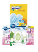 Swiffer duster of Ambi Pur luchtverfrisser