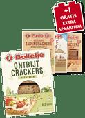 Bolletje ontbijt, zaden of lichte crackers