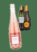 Jean Sablenay Rosé Anjou, Terrazzano Verdicchio dei Castelli di Jesi en Tiresia Prosecco