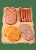 DekaVers vlees, kip en vega
