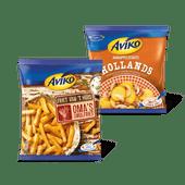 Aviko Friet van 't huis of aardappelschotel