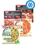 Dr. Oetker Tradizionale of Yes It's Pizza