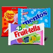 Mentos, Fruit-tella of Chupa Chups