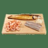1 de Beste gerookte makreel, haringfilets of cocktailgarnalen
