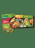 Knorr Wereldgerechten of Trattoria of Conimex Streetfood