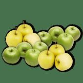 Granny Smith of Golden Delicious appelen