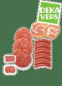 DekaVers runderchipolata's, slavlinders of  runderhamburgers