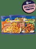 Aviko friet van het huis of aardappel schotel