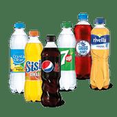 Pepsi, Sisi, 7-up, Crystal Clear, Rivella of Hero