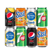 Pepsi, Sisi, 7-Up of Royal Club Shandy