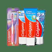 Colgate tandpasta of tandenborstel