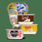 Danone Twix, M&M's, Af en Toetje of Danio