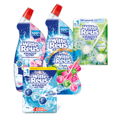 Witte Reus toiletblok of WC gel