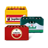 Amstel, Jupiler of Grolsch