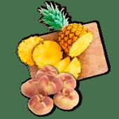Del Monte ananas of wilde perziken