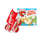 La Vache qui rit Cheez Dippers of Mini Babybel