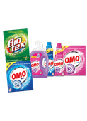 Omo wasmiddel of Biotex